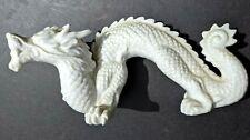 """Vintage Art Pottery- Oriental Porcelain Dragon Figurine- 8.5""""x4""""  Japan Label"""