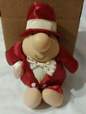 Vintage Ziggy Plush Doll Valentine's Day I Love You Pillow Red Tom Wilson 1987