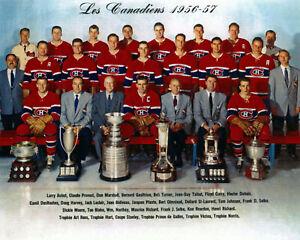 Montreal Canadiens 1956-57 Championship Team Photo