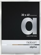 Nielsen Alpha Silber 30X40cm Aluminiumrahmen