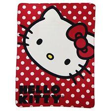"Northwest Kids Fleece Throw Blankets 50"" x 60"" Several Options - Hello Kitty"