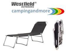 Westfield Liege Highstrik bis 140 kg Sonnenliege Campingliege Dreibein Faltliege