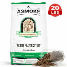 ASMOKE'S BBQ Pellets 100% Applewood Natural Pure Apple Wood Smoker Grill 20 LBS