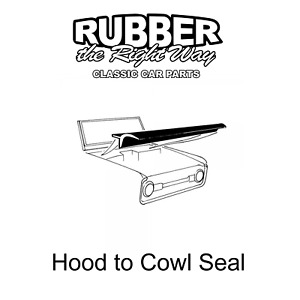 1973 - 1979 Ford Truck Hood to Cowl Seal