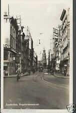 Amsterdam Reguliersbreestraat  _ Old Unposted Real Photograph