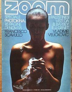 Zoom Rivista dell'immgine n.4 / 1972 Palestinesi visti da Barbery testi di Genet