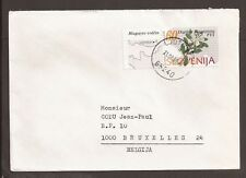 """Slovenia 1995 cover. """"Ljutomer"""" cancellation"""