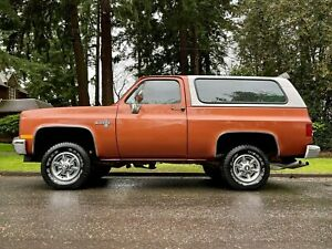 1982 Chevrolet Blazer Custom 4x4
