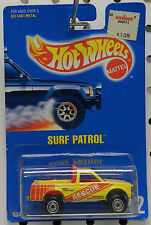 102 RESCUE CHEVY FORD PICKUP TRUCK SURF PATROL  MALAYSIA 1992 CAR HW HOT WHEELS