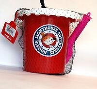 Moomin Plástico Arena Juguetes Little mi Rojo Rosa