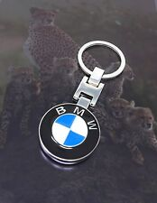 Bmw keychain Both side BMW Brand Logo Special Edition 3 part Luxurious Folding