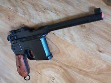 Replica M1896 Broom Handle Automatic German Mauser Prop Gun Wood Grip