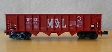 N scale open hopper MSTL Minneapolis & St. Louis NIB AHM Minitrains 4361