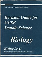 BIOLOGY REVISION GUIDE FOR GCSE DOUBLE SCIENCE HIGHER LEVEL