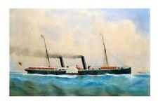 NAMOI of the Newcastle & Hunter River S N Co W J Forster Art Digital Postcard