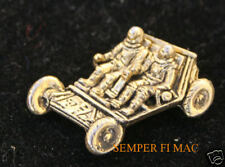 LUNAR ROVER HAT LAPEL PIN UP MADE IN US APOLLO ASTRONAUT NASA MOON 3D GOLD GIFT
