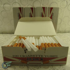ZIGZAG EMPTY cigarette TUBE for Powermatic 1 2 Injector Making Machine Tobacco A