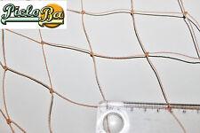 Netz Geflügelnetz  1 m x 20 m  lachsfarben Masche 5 cm Geflügelzaun