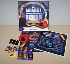 The Moment of Truth Game TV Game w/ Electronic Biometric Lie Detector!