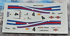 DECAL 1/43 MARTINI PORSCHE 936 TURBO WINNER 1977 LE MANS CARTOGRAF