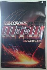"""MISSION IMPOSSIBLE 3 double-sided movie poster 27""""x 40"""""""
