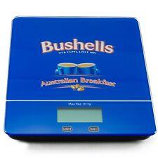 Digital Kitchen Scale 5kg Tempered Glass Platform Bushells Tea Logo Printed