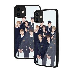 BTS - Apple iPhone Premium Glass phone Case