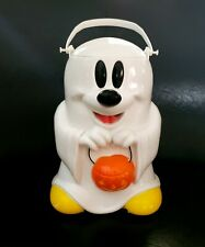 New listing Disney Parks Ghost Mickey Mouse Halloween Souvenir Popcorn Bucket trick or treat
