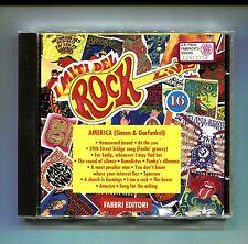 I Miti del Rock n.16 # SIMON & GARFUNKEL # AMERICA # Fabbri 1993 # CD Rock