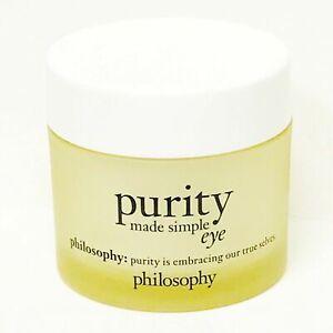 Philosophy Purity Made Simple Eye Hydra-Bounce Eye Gel 1oz NEW