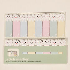 120 Sheets Lovely Emoji Teeth Mini Sticky Notes Page Marker Memo Tab Sticker