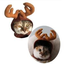 PRO Pet Cat Dog Hat Cap for Puppy Teddy Shapeshift Christmas Reindeer-Costume
