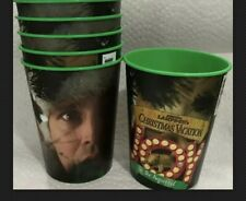 6 National Lampoon's Christmas Vacation Plastic Cups Used Once