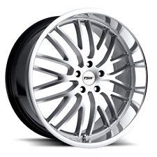 17 inch 17x8 Tsw Snetterton Hyper Silver wheel rim 5x112 +45(Fits: Rabbit)