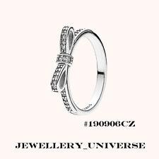 Authentic Genuine Pandora Sparkling Bow Ring  Size 52mm (6) #190906CZ