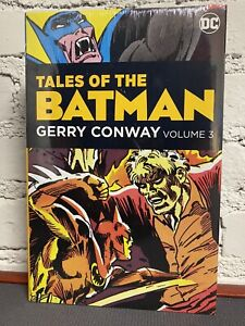Tales of the BATMAN - Gerry Conway Vol 3 HC New, Sealed VF+/NM OOP