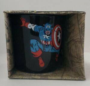 Marvel Avengers Captain America 12oz Ceramic Mug New In Box!