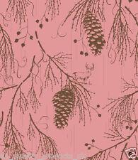 Kuboaa wallpaper, sequoia Wellington, rose, vedette mur, Bnib, rrp £ 57. k3sw05