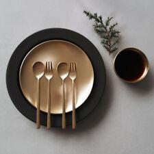 [Notdam]Korean Handmade Brassware Yugi Tea Spoon Tea Fork 4P/Yoons Kitchen