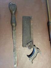 old vintage tools Saw and Wood Work Tool