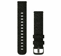 Garmin Quick Release Replacement Nylon Watch Bands (20mm - Black) 010-12924-13