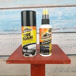 Armorall Tire Foam Protctant Tire Shine/ Original Formula 4oz Bundle USA Seller