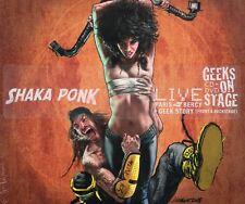 Shaka Ponk Geeks On Stage CD & DVD Live Paris Bercy 2013 New & Sealed Gift Idea