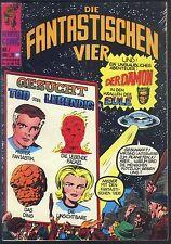 Die Fantastischen Vier Nr.7 von 1974 Williams - Z1-2 ORIGINAL MARVEL COMIC-HEFT