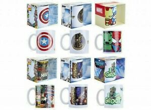 Brand New Marvel 11oz Novelty Mugs Dishwasher and Microwave Safe Cups