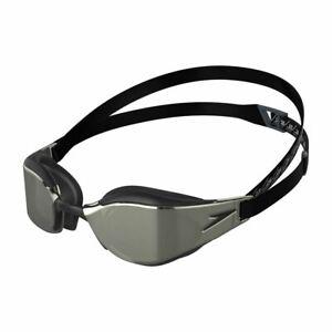 Speedo Fastskin Hyper Elite Mirror Goggle  Black