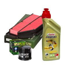 Kit tagliando Castrol 10W40 filtro olio aria HifloFiltro Suzuki GSR 600/750