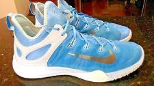 Mens NIKE ZOOM HYPERREV 2015 Basketball Shoe 742247 403 Powder BLUE WHITE Sz 14