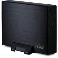 """2000 GB 2 TB 3,5 Zoll externe Festplatte Veloce USB 3.0 SATA III 3,5"""" 7200 rpm"""