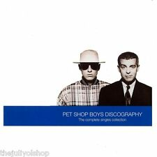 CD PET SHOP BOYS....DISCOGRAPHY THE COMPLETE SINGLES COLLECTION.......